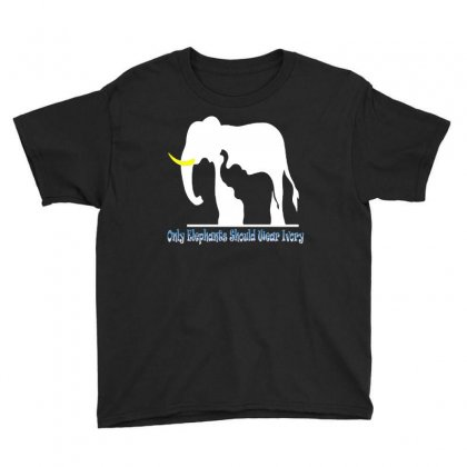 Only Elephants Should Wear Ivory Youth Tee Designed By Ysuryantini21