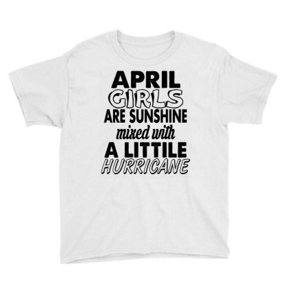 April Girls Youth Tee Designed By Ooredoo
