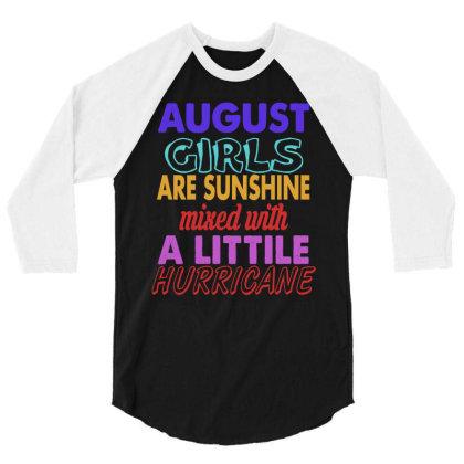 August Girls 3/4 Sleeve Shirt Designed By Ooredoo