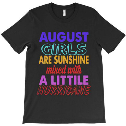August Girls T-shirt Designed By Ooredoo