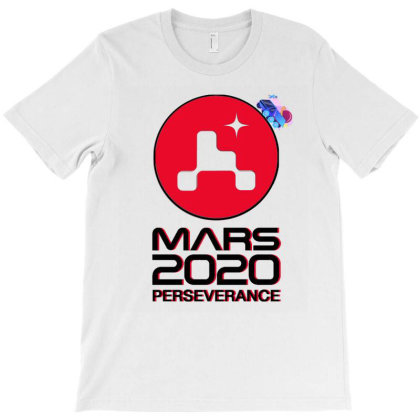 Nasa Perseverance Rover Mars 2020 Black V3 T-shirt Designed By Kroos-sell