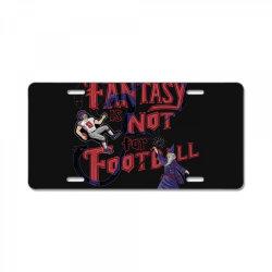 fantasy football License Plate | Artistshot