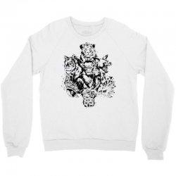 wild animals Crewneck Sweatshirt | Artistshot