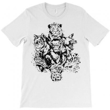 Wild Animals T-shirt Designed By Sbm052017