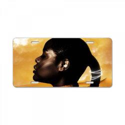 African Princess License Plate | Artistshot