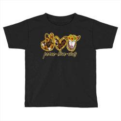 Peace Love Cows Toddler T-shirt   Artistshot