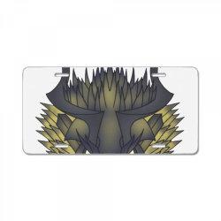 behemoth monster License Plate | Artistshot