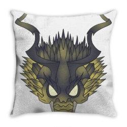 behemoth monster Throw Pillow | Artistshot