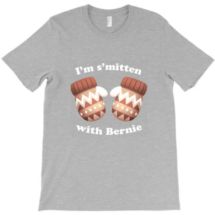 Im Smitten With Bernie T-shirt Designed By Frebsrs