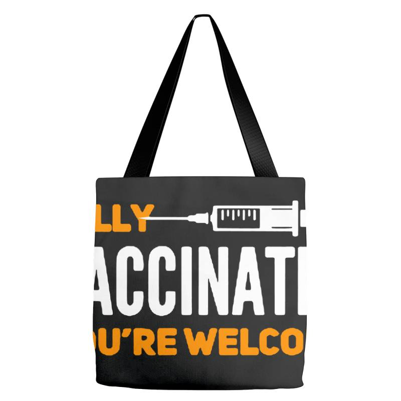 Vaccinated 2021 Tote Bags | Artistshot