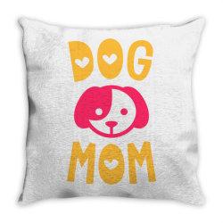 Dog Mom Throw Pillow | Artistshot