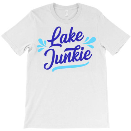 Lake Junkie T-shirt Designed By Ombredreams