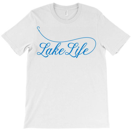 Lake Life T-shirt Designed By Ombredreams