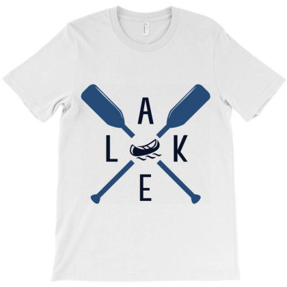 Lake T-shirt Designed By Ombredreams