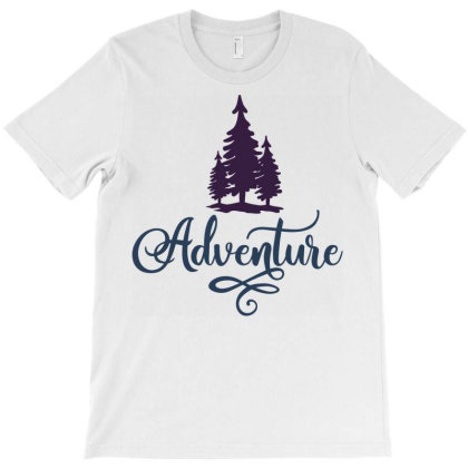 Adventure T-shirt Designed By Ombredreams