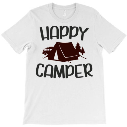 Happy Camper T-shirt Designed By Ombredreams