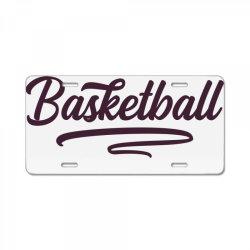 Basketball License Plate   Artistshot