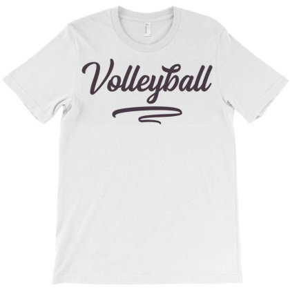Volleyball T-shirt Designed By Ombredreams