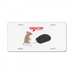mouse and mouse License Plate   Artistshot