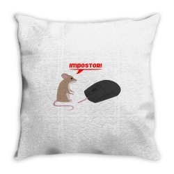 mouse and mouse Throw Pillow | Artistshot