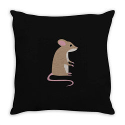 this is a mouse Throw Pillow | Artistshot