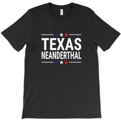 Texas Neanderthal T-shirt Designed By Black Coffee