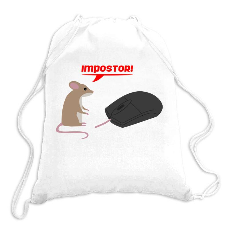 Mouse And Mouse Drawstring Bags   Artistshot