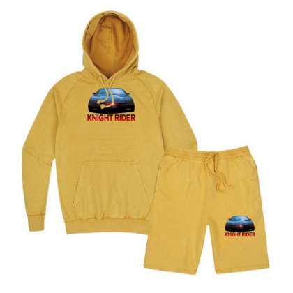 Knight Rider Classic Action Vintage Hoodie And Short Set Designed By Nurmasit1
