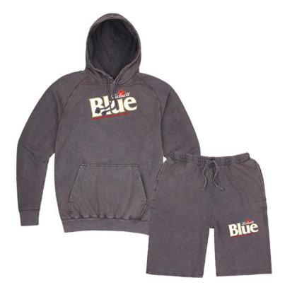 Labatt Blue Beer Vintage Hoodie And Short Set Designed By Nurmasit1
