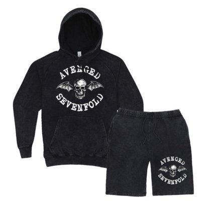 Avenged Sevenfold Vintage Hoodie And Short Set Designed By Defit45