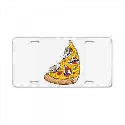 Pizza Sneakers License Plate | Artistshot