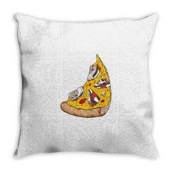 Pizza Sneakers Throw Pillow | Artistshot