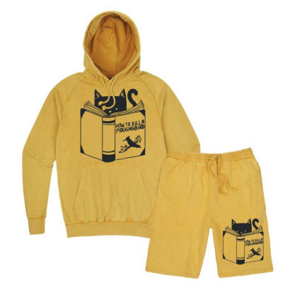 How To Kill A Mockingbird Vintage Hoodie And Short Set Designed By Mdk Art