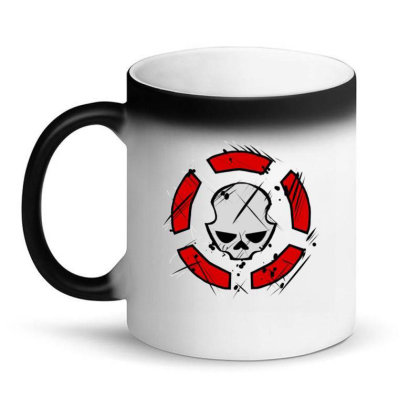 Agent Rouge Division Magic Mug Designed By Dewi Sabrin