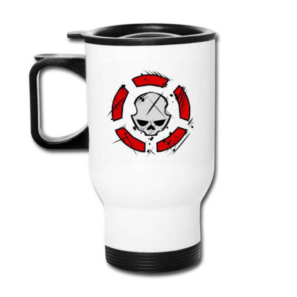 Agent Rouge Division Travel Mug Designed By Dewi Sabrin