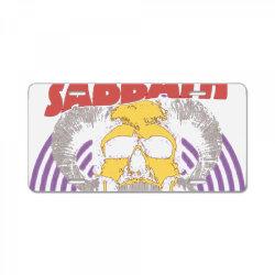 zakk sabbath band License Plate | Artistshot