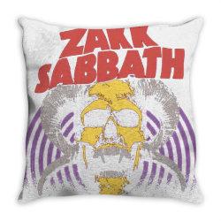 zakk sabbath band Throw Pillow | Artistshot