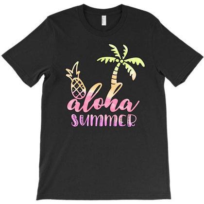 Aloha Summer Sublimation T-shirt Designed By Asiya