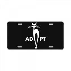 adopt License Plate | Artistshot