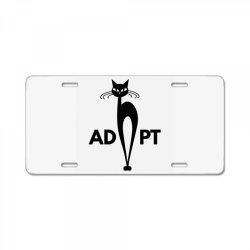 adopt License Plate   Artistshot