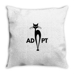 adopt Throw Pillow   Artistshot