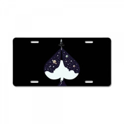 ACE of Spades T-Shirt Lucky Lady Luck License Plate | Artistshot