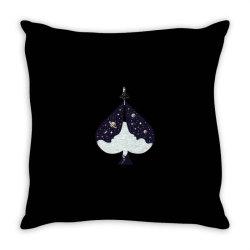 ACE of Spades T-Shirt Lucky Lady Luck Throw Pillow | Artistshot