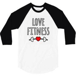 LOVE FITNESS 3/4 Sleeve Shirt | Artistshot