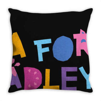 A For Adley T Shirt Throw Pillow Designed By Nhan0105