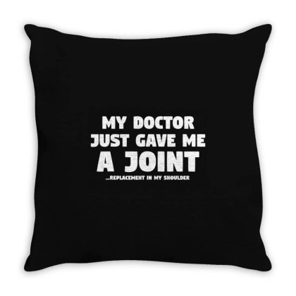 Shoulder Surgery Gift Throw Pillow Designed By Top Seller