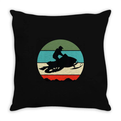 Snowmobile Throw Pillow Designed By Mito220