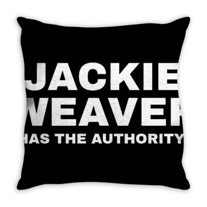 Je Suis Jackie Weaver Merch Throw Pillow Designed By Citra Karinas