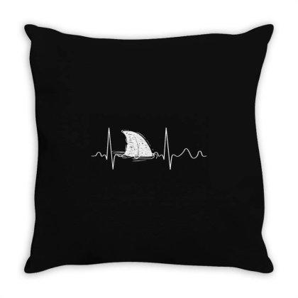 Shark Shirt   Shark Lover Throw Pillow Designed By Top Seller
