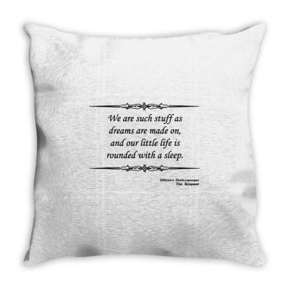 Shakespeare Dreams Throw Pillow Designed By Top Seller
